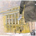 Петербургская филармония предложит билеты за полцены. Рисунок - Саша Конакова