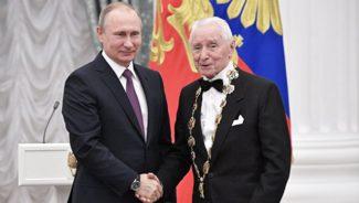 Путин назвал спектакли Григоровича национальным достоянием