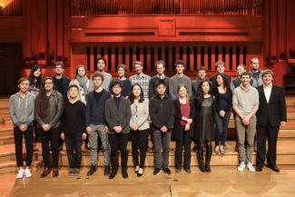 Участники второго тура виолончельного Конкурса имени королевы Елизаветы