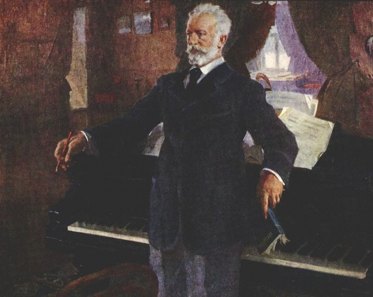 Василий Сварог. Портрет П. И. Чайковского (1940)