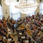 Йельский симфонический оркестр дал концерт в Петербурге