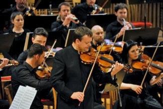 Молодежный оркестр Российско-немецкой музыкальной Академии. Фото - Валентин Барановский/Мариинский театр