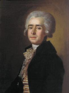 Дмитрий Степанович Бортнянкий, портрет кисти М. И. Бельского (1788)