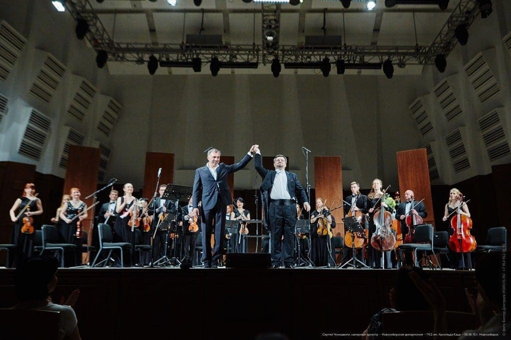 Сергей Чонишвили и Алим Шахмаметьева. Фото - Виктор Дмитриев