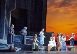 «Пеллеас и Мелизанда». Фото - Wiener Staatsoper / Michael Pohn