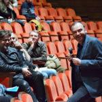В зале «Стравинский» геликоновцы собрались на экспликации спектакля «Трубадур» Верди