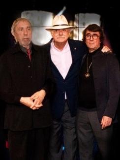 Артемьев, Михалков, Башмет на вручении Премии. Фото - БФ Юрия Башмета