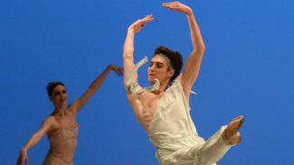 Завершился XIIIКонкурс артистов балета и хореографов. Фото: Юрий Мартьянов / Коммерсантъ