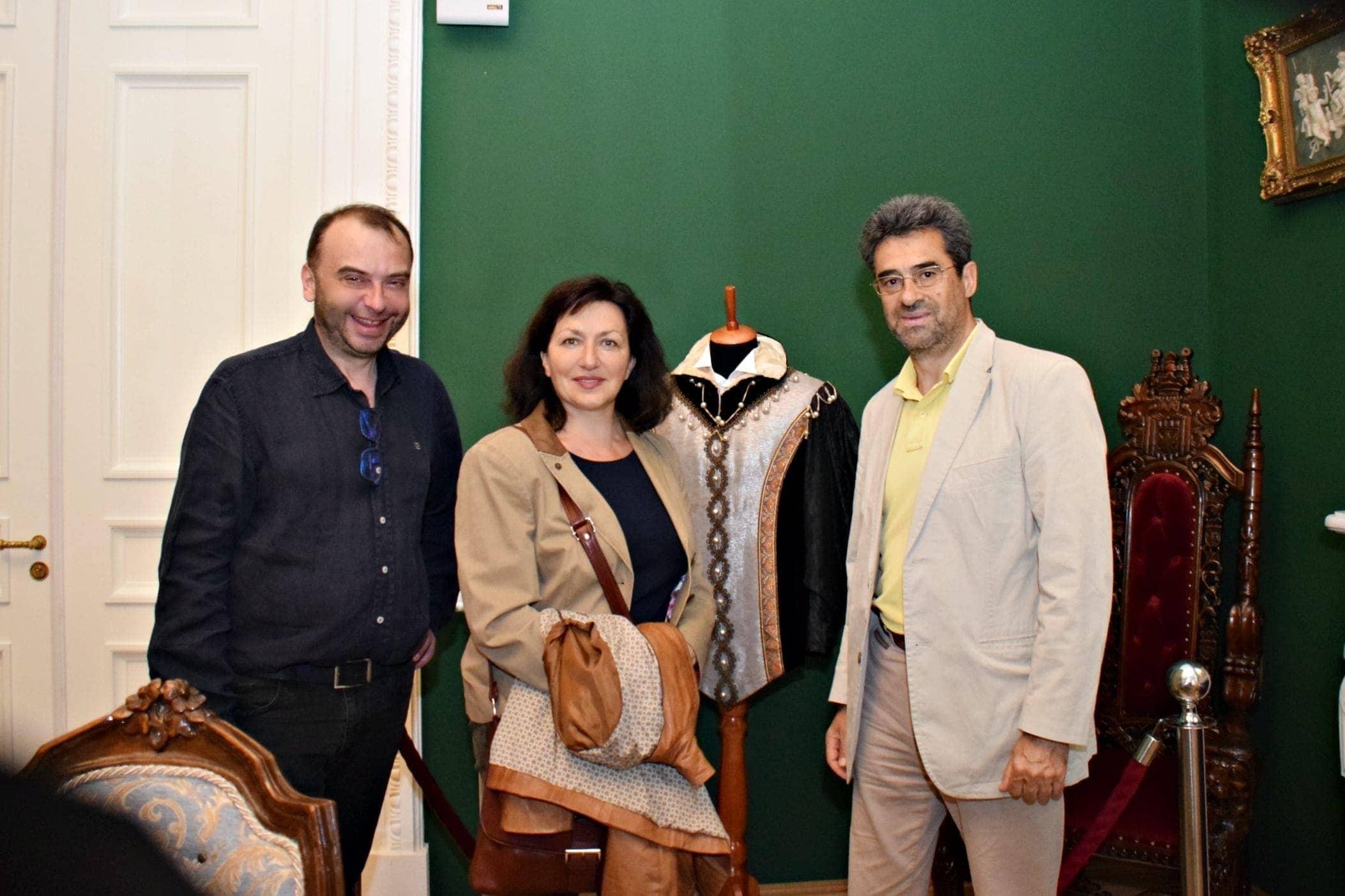 Дмитрий Бертман и Красимира Стоянова с мужем. Фото - Ирина Шымчак