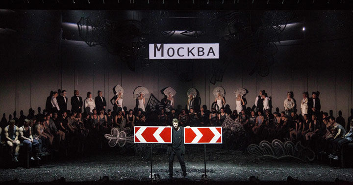 """""""Чаадский"""" в Геликон-опере. Фото - Анна Молянова"""