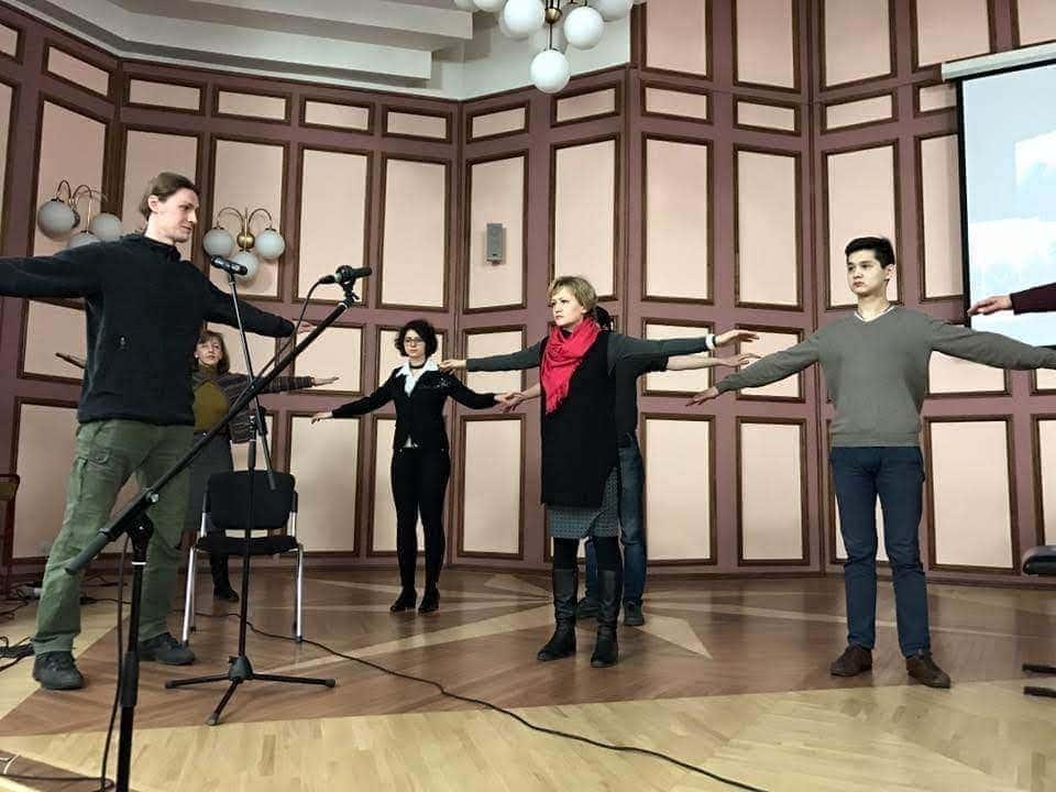 Занятия с Владимиром Дмитриевым в ЦМШ