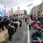 Артисты Музыкального кадетского корпуса им. Александрова выступают в Москве