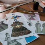 Эскизы костюма помещицы Коробочки