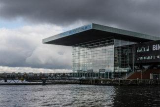 Концертный зал Muziekgebouw. Амстердам. Фото - Paul Rebel / Flickr
