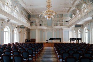Рахманиновский зал Московской консерватории. Фото - Ольга Максимова