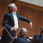 Гинтарас Ринкявичус провел последние концерты в статусе главного дирижёра Новосибирского академического симфонического оркестра