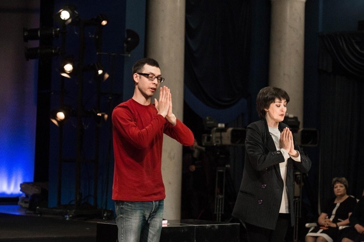Алексей Смирнов и Валентина Гофер