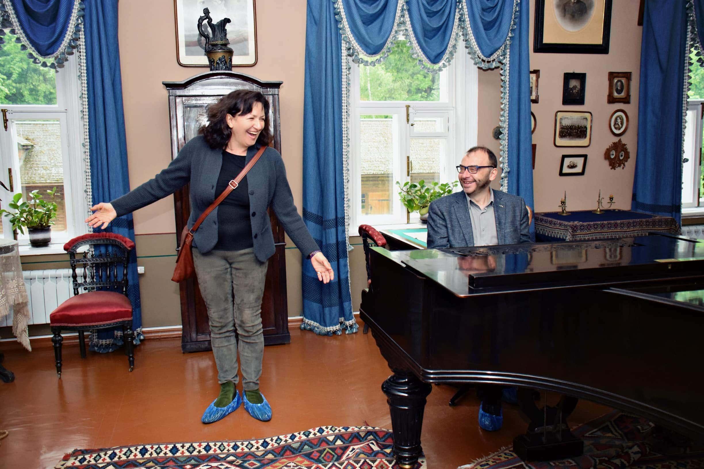 Красимира Стоянова и Дмитрий Бертман. Фото - Ирина Шымчак