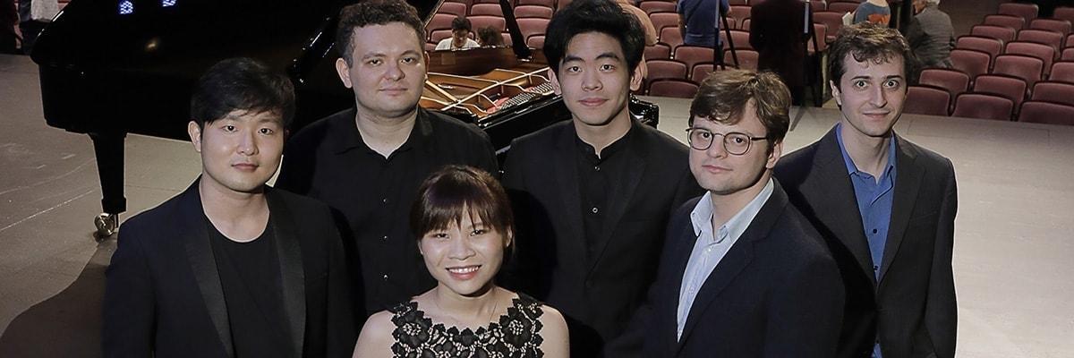 Финалисты XV Международного конкурса пианистов имени Вана Клиберна