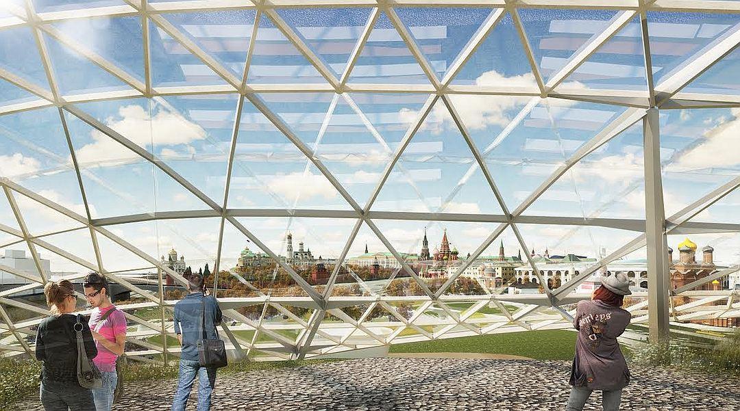 Фасад нового здания филармонии почти готов