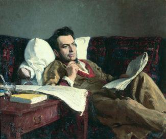 Илья Репин - «Михаил Иванович Глинка в период сочинения оперы Руслан и Людмила», 1887 год