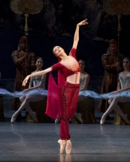 """Вероника Парт в балете """"Баядерка"""". Фото - Gene Schiavone"""