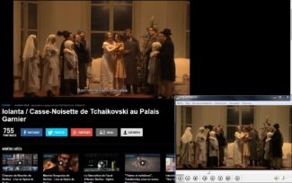 Сцена из оперы «Иоланта / Щелкунчик» Дмитрия Чернякова. Фото - Culturebox