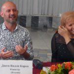 Диего Вилли Корна и Светлана Бережная. Фото - Николай Близнюк