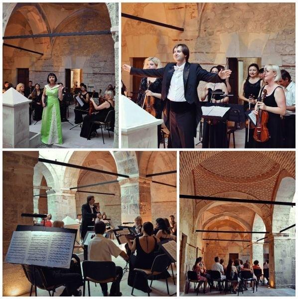 На территории историко-археологического комплекса «Салачик» представлен концерт «Музыка в вечности»