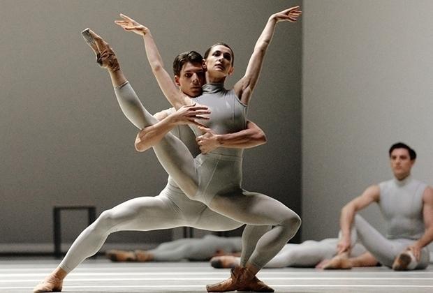 Генеральный прогон балета «Вторая деталь» Уильяма Форсайта. Фото - Юрий Мартьянов