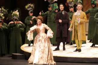 "В Мариинском театре представили оперу ""Адриана Лекуврёр"""