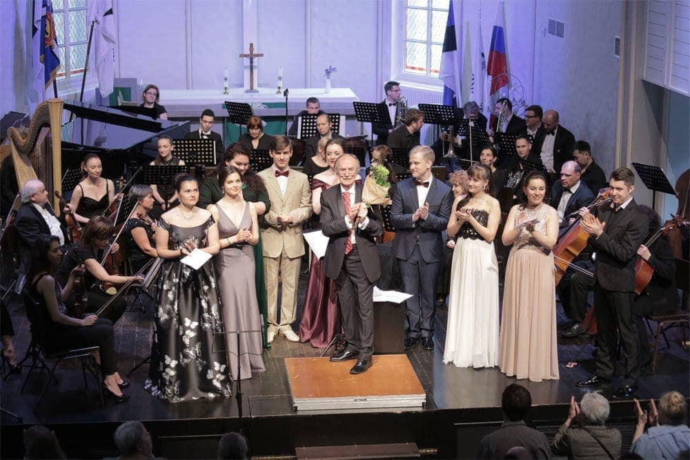 Первый фестиваль им. Георга Отса собрал более шестидесяти конкурсантов из разных городов и стран. Фото: Владимир Постнов