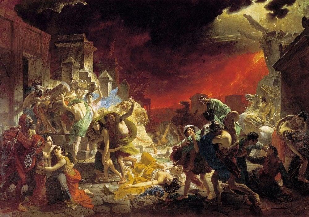 Карл Брюллов - «Последний день Помпеи», 1830-1833 года