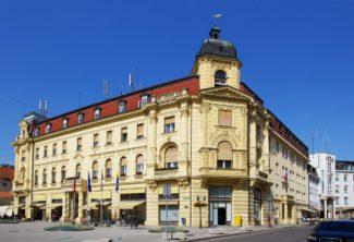 Здание Народного собрания в г. Целье (Словения)