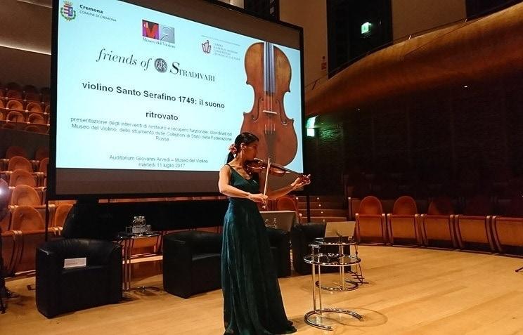 В Италии отреставрировали уникальную скрипку из российской коллекции