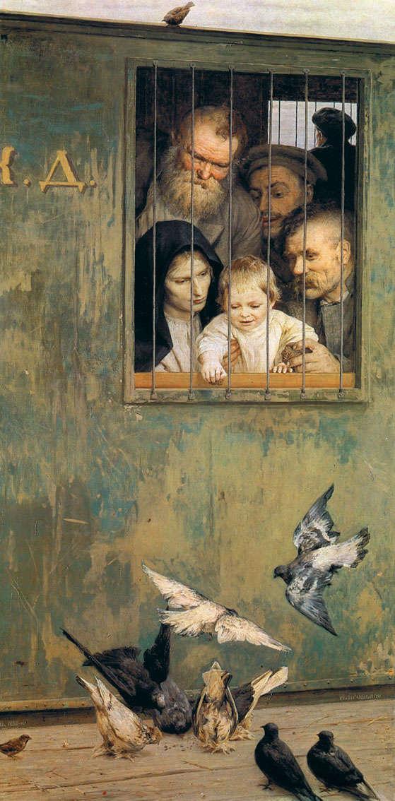 "Николай Александрович Ярошенко - ""Всюду жизнь"", 1888 год"
