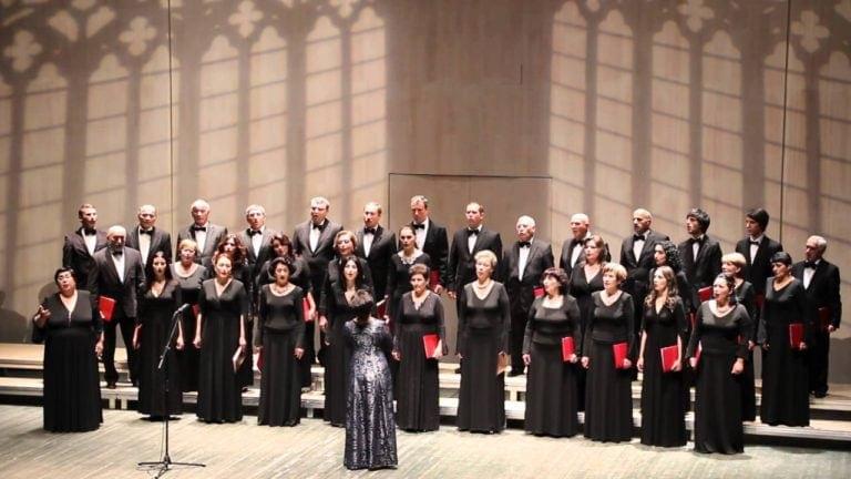 Гастроли хоровой капеллы Абхазии
