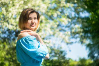 Этим летом Айгуль Ахметшина выступила в любимой Уфе на фестивале «Сердце Евразии». Фото - вконтакте