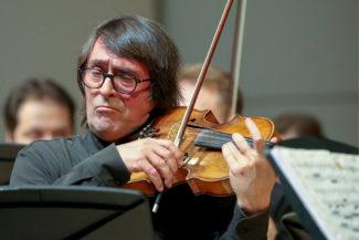 Юрий Башмет вместе со своими виртуозами отметил в Вербье 25-летие оркестра. Фото - Артем Геодакян/ТАСС