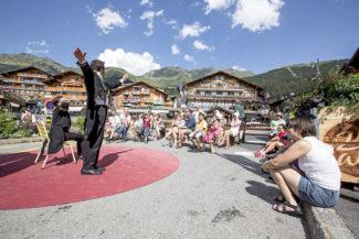 Вербье стал самым любимым фестивалем у молодых музыкантов мира. Фото - Verbier Festival