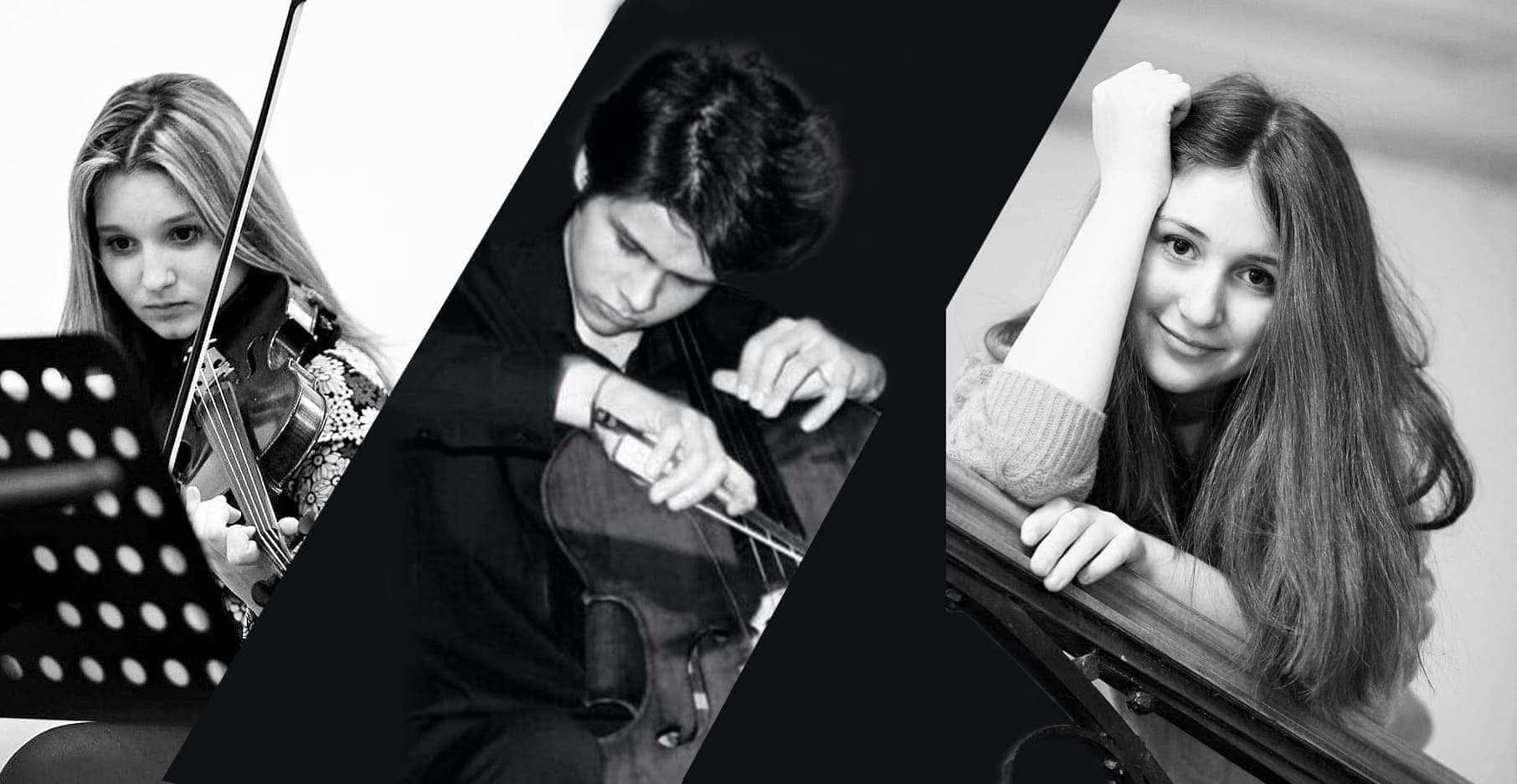 Елизавета Леонова (скрипка),Григорий Филипченко (виолончель),Дарья Бочарова (фортепиано)