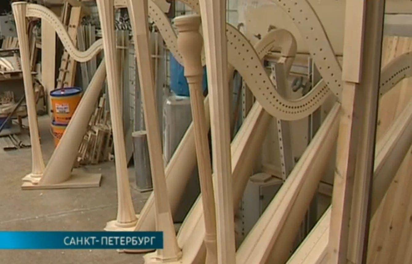 Фабрика по производству арф в Санкт-Петербурге