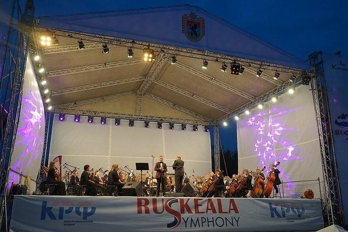 """Фестиваль оперной музыки в горном парке """"Рускеала"""". Фото - пресс-служба правительства Карелии"""