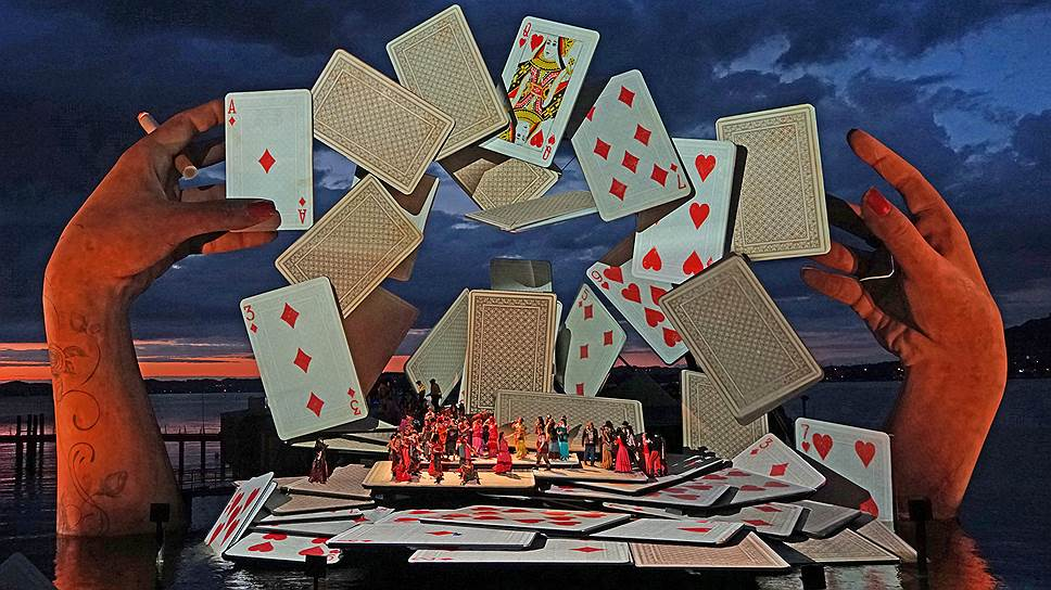 «Кармен» показали в Брегенце. Фото - Bregenz Festival