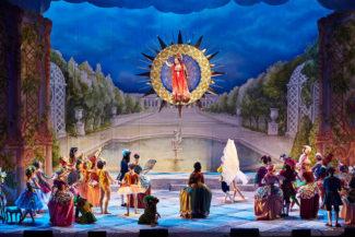 Авторы «Хрустального дворца» вспомнили традиции XVIII в. Фото - Европейский фонд поддержки культуры
