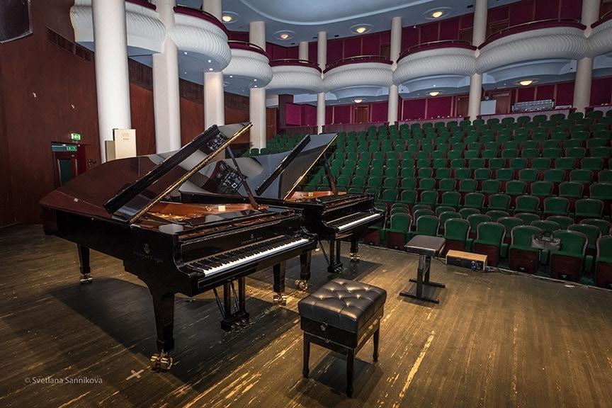 Два концертных рояля Steinway & Sons пополнили собрание инструментов Дома музыки. Фото - Светлана Санникова