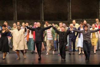 «Милосердие Тита» в Зальцбурге. Фото - Salzburger Festspiele / Franz Neumayr