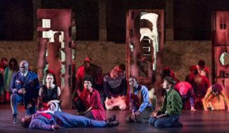 Сцена из оперы «Милосердие Тита» в Зальцбурге. Фото - Salzburger Festspiele / Ruth Walz