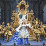 Постановка балетов Рамо, Ребеля и Клерамбо воссоздавала стилистику французского театра первой половины 18 века. Фото - Innsbrucker Festwochen / Rupert Larl