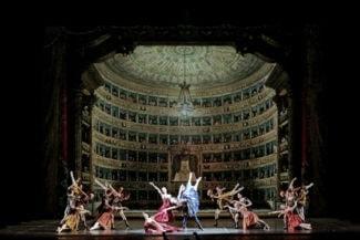 Сцена из балета «Опера». Фото - Brescia / Amisano / Teatro alla Scala